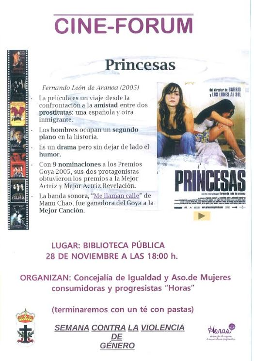 Cine Forum: Princesas