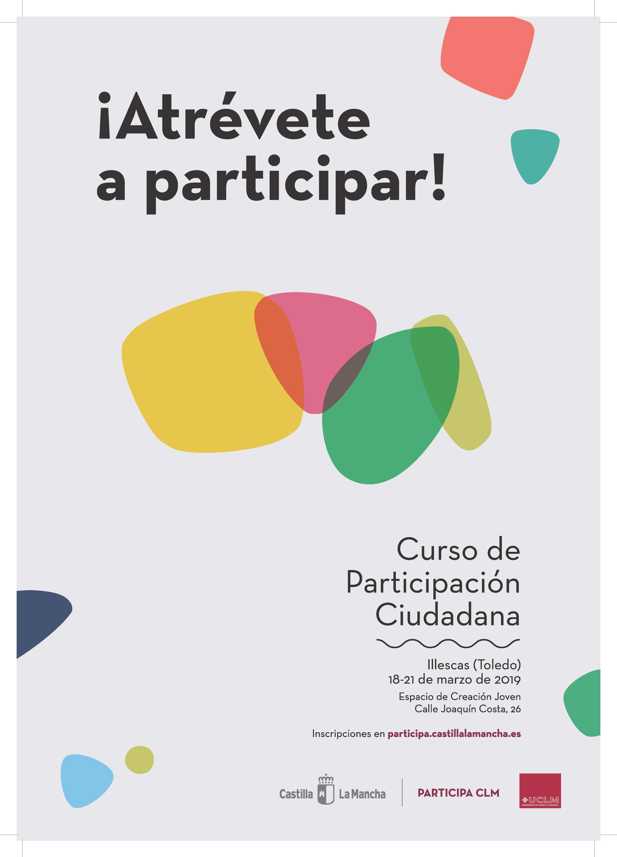 Atrevete A Participar Curso De Participacion Ciudadana En Toledo Ayuntamiento De Santa Cruz De La Zarza