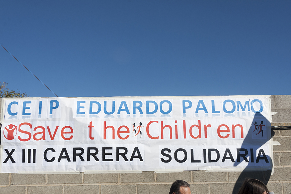 Actividad Solidaria de los alumn@s y profesor@s del Colegio Públio