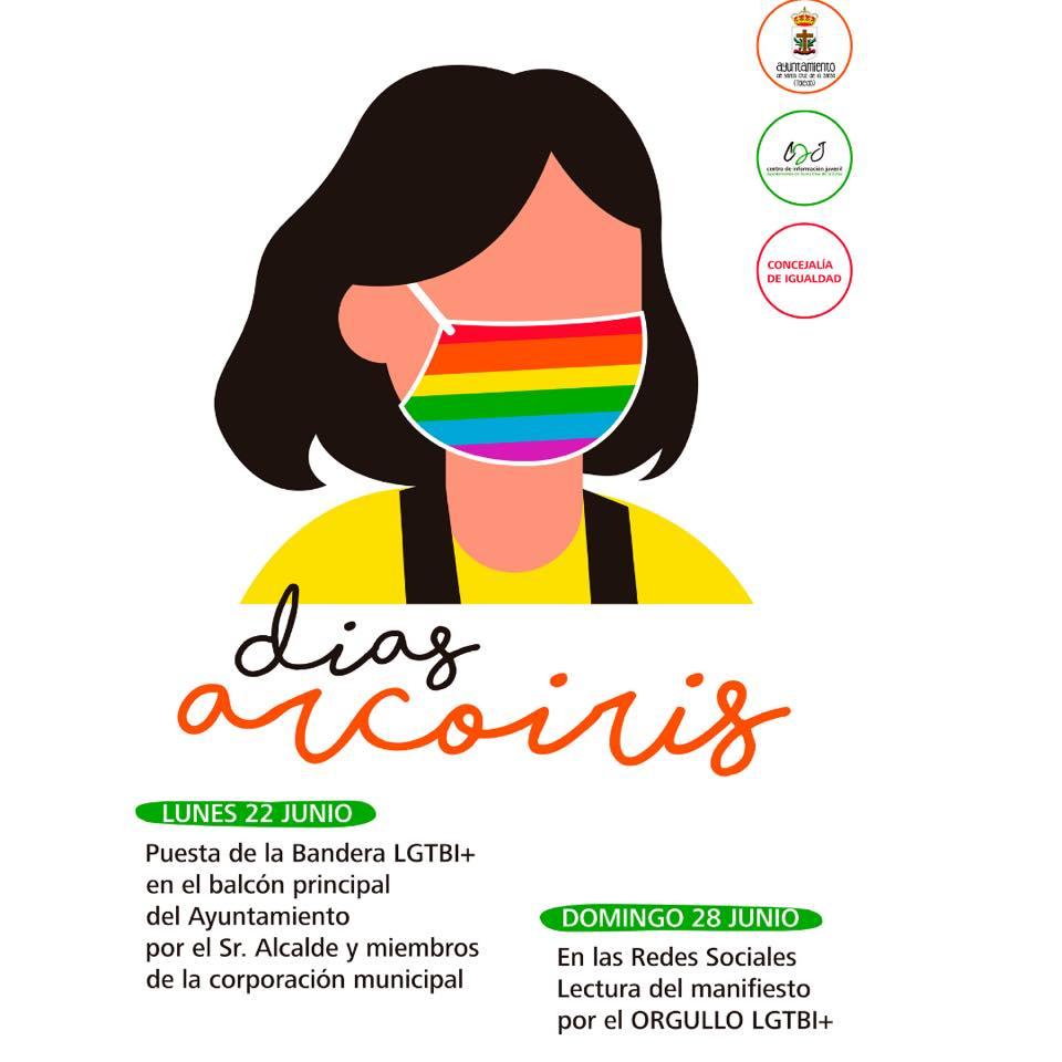 Días Arcoiris.Actividades Semana del Orgullo 2020